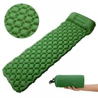 Outdoor Tent Sleeping Pad Ultralight Portable Moisture Pad Inflatable Cushion Mat Hiking Pillow Air Mattress Camping Supply