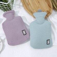 Плюшевые ткани горячая оболочка для бутылки теплая водонепроницаемая сумка удаляемый моющийся горячая оболочка для бутылки