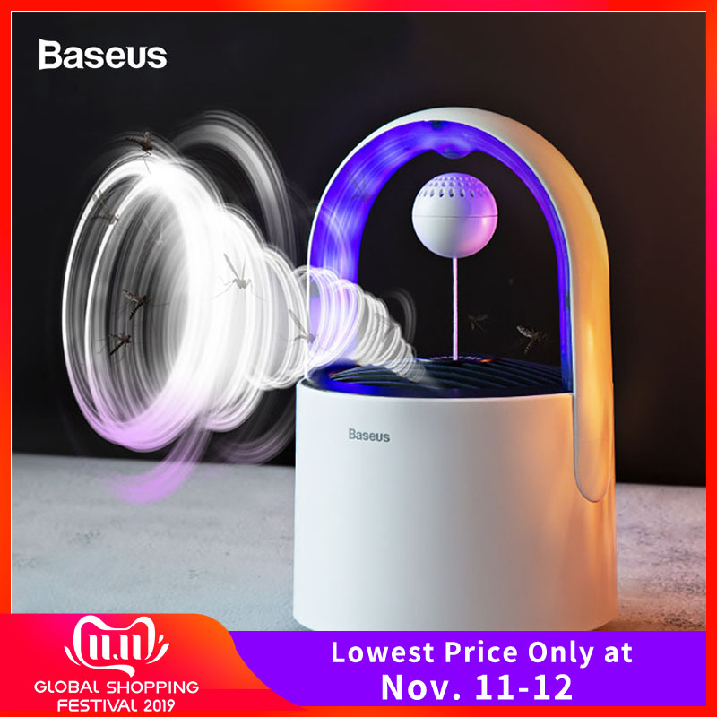 Baseus USB Lantern UV Light Mosquito Killer Lamp LED Electric Insect Trap Lamp Bug Zapper Killing Lamp Anti Mosquito Repellent