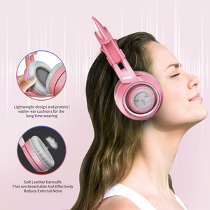 Image 4 - SOMIC G951S Pink gaming Headphones Virtual 7.1 Noise Cancelling Wired Gaming Vibration 3.5mm Headset with Mic for PC Gamer