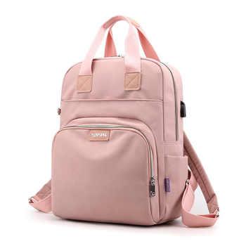 New Waterproof Nylon Backpack for Women School Shoulder Bag Bagpack for Teenage Girls Female Travel Backpacks mochila - Category 🛒 All Category