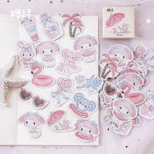 Mohamm Seaside Holiday Diary Mini Paper Travel Deco Japanese Journal Kawaii Cute Stickers Scrapbooking Flakes Stationery