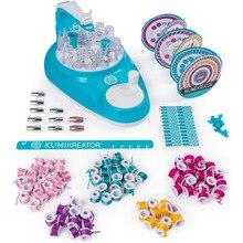 Ruihua Line cool mi Woven zhi le ручная ткацкая машина красочная креативная ручная повязка на голову для девочек DIY детская игрушка