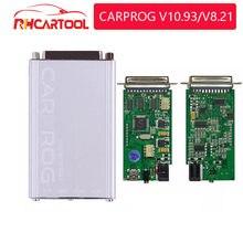 OBD2 CARPROG V10.93 Carprog V10.0.5 V8.21 Car Prog ECU Chip Tunning strumento di riparazione auto Carprog 10.93 (con tutti gli adattatori 21 articoli