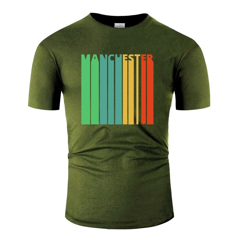 Imprimé classique vintage rétro manchester cadeaux. T-shirt nouveauté t-shirt Comics coton grande taille S ~ 5xl