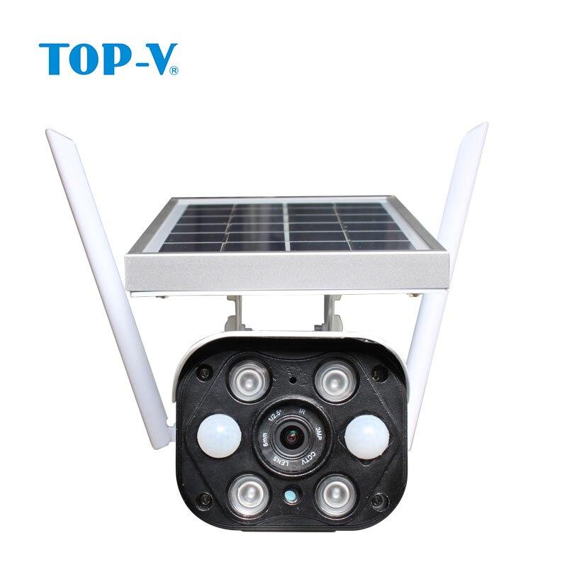 Ao ar livre câmera solar sem fio wi fi câmera de baixa potência 1080 p hd segurança vigilância ubell app ip66 à prova dwaterproof água câmera ip segurança