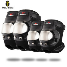 Wolfbike Sports Knee Protector Anti-Shock Elbow Protective Gear Suits Snowboard Motorcycle Roller Skateboard Hockey Support