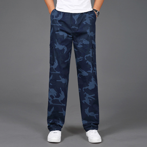 Image 3 - 2020 New Joggers Men Hot Sale Casual Camouflage Pants Homme Summer 100% Cotton Elastic Comfortable Trousers Men Plus Size 5XL