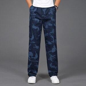 Image 3 - 2020 nuovi Pantaloni Degli Uomini di Vendita Calda Casual Camouflage Pants Homme Estate 100% Cotone Elastico Confortevole Pantaloni Degli Uomini Più Il Formato 5XL
