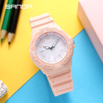 Wrist Watch Women Quartz Small Watches Fashion White Clock Ulzzang Watch Japan Movt Pink Ladies Star Casual Sport Waterproof himouto umaru chan japan anime led watch waterproof touch screen women wrist watches comics cartoon christmas gift
