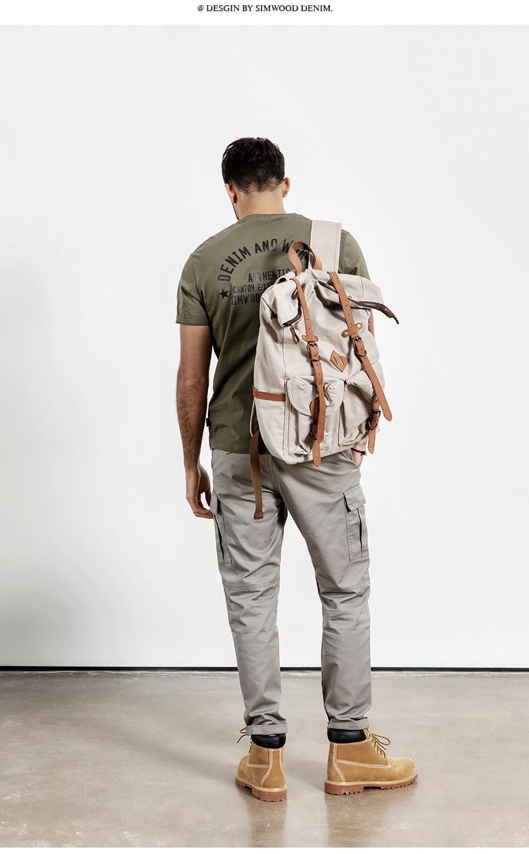 H1aa89deadea84c82a1fdb28394e5342ez SIMWOOD New 2019 Casual Pants Men Fashion track Cargo Pants Ankle-Length military autumn Trousers Men pantalon hombre 180614