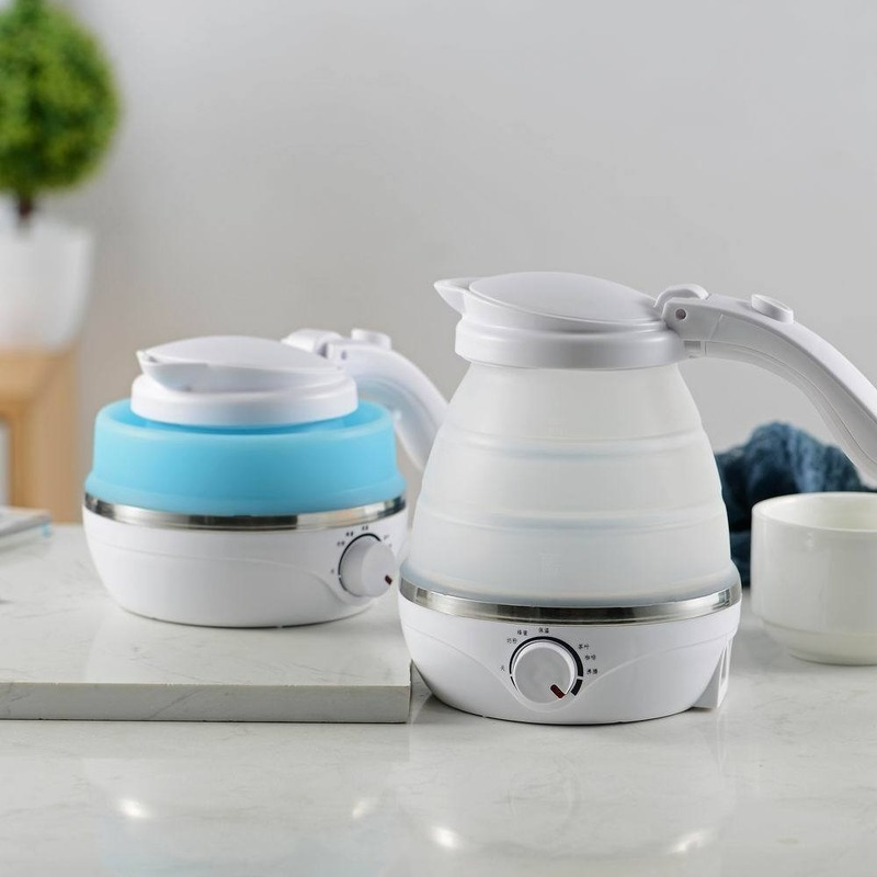 Folding electric kettle automatic small power mini kettle small dormitory abroad travel portable electric kettle travel kettle|Electric Kettles| |  - title=