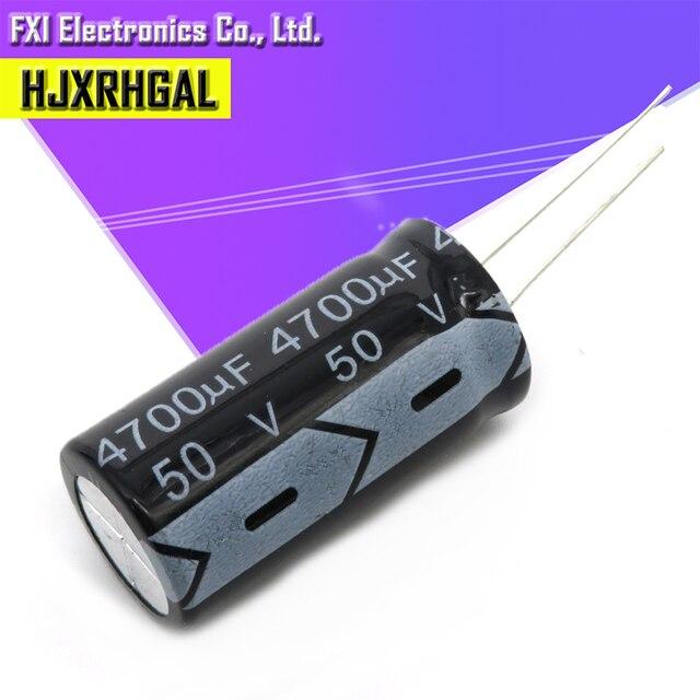 2PCS 50V4700UF 4700uf50v 18*35 50 V 4700 uF 18X35 Electro Electrolytic Capacitor