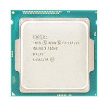 Intel Xeon E3 1231 V3 3.4 Ghz Quad-Core Processore Lga 1150 Cpu Desktop di E3 1231v3 E3-1231 V3 Core cpu Processore 8M 80W Lga 1150