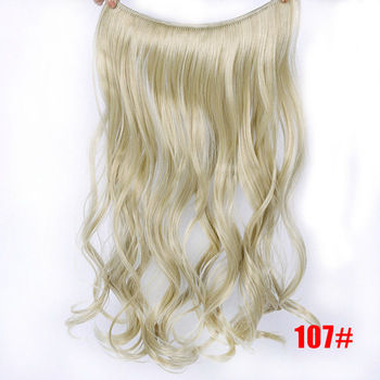 Τρέσα με αόρατο λάστιχο 24ιν για ίσια ή κυματιστά μαλλιά lupu