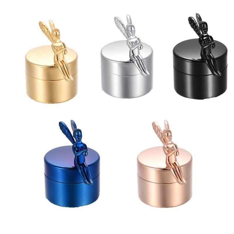 Crémation bijoux cendres pot acier inoxydable être humain urnes crémation ange accessoires
