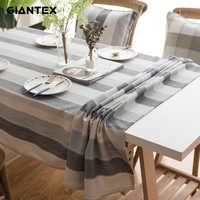 GIANTEX Küche Wasserdicht Tischdecke tischdecke Rechteckige Tischdecken Esstisch Abdeckung Obrus Tafelkleed kaminsims mesa nappe