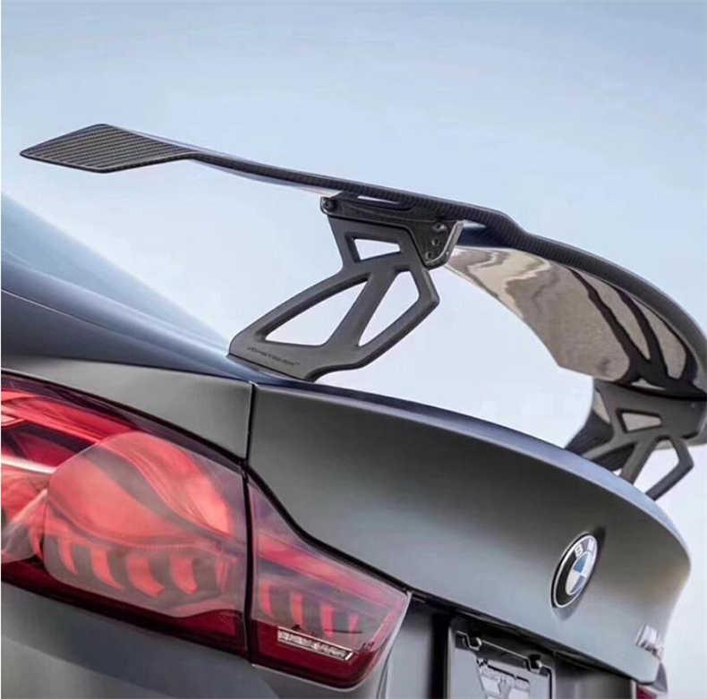 De fibra de carbono Spoilers para BMW, 2, 3, 4, 5, 6 serie F22 F87 F30 F80 G20 F32 F33 F36 F82 F83 F10 G30 F06 F12 F13 ala Spoiler
