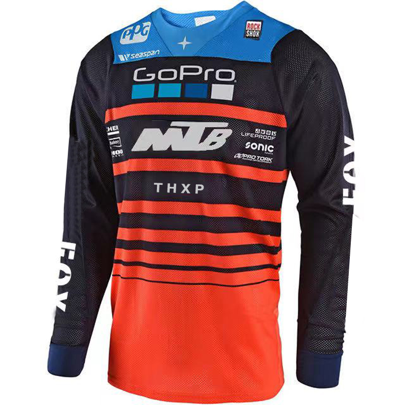 Long Sleeve Cycling Jersey, Motocross Jersey, Quick-drying Sweatshirt, ATV, Mtb, DH, 2021 Cycling Jersey, mountain bike