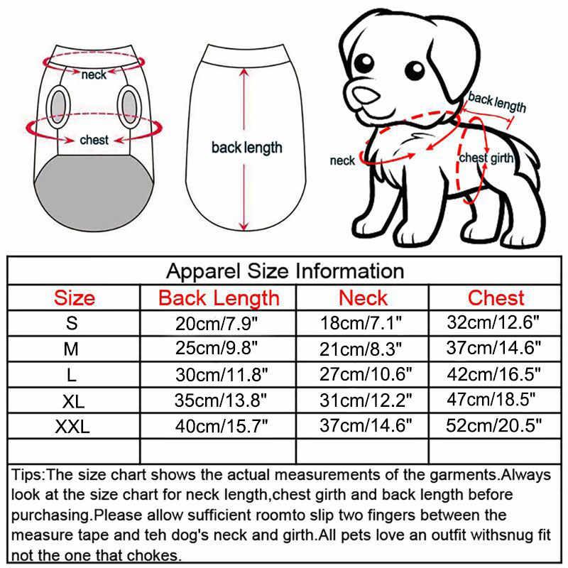 漫画の犬のプリント服冬 2-本足のペット服小型犬トレーナーコールド天気コートジャケット子犬ヨークシャー