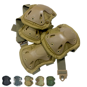 Tactical KneePad Elbow Pad Military Knee Elbow Protector Army Airsoft Outdoor Sport Working Hunting Skating Safety Gear Kneecap(China)