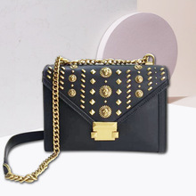 Famous Luxuary Brand Shoulder Bags Genuine Leather Handbags Messenger Chain
