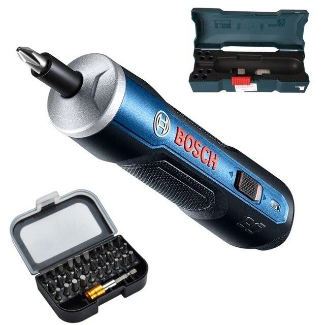 BOSCH GO BOSCH GO2 Мини электрическая щетка шуруповерт 3,6 V литий ионный Батарея Перезаряжаемые беспроводные Мощность дрель электрическая отвертка