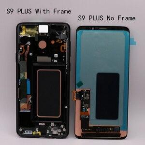Image 5 - Amoled Originale di Ricambio per Samsung Galaxy S9 S9 + Lcd Touch Screen Digitizer con Telaio G960 G965 Display
