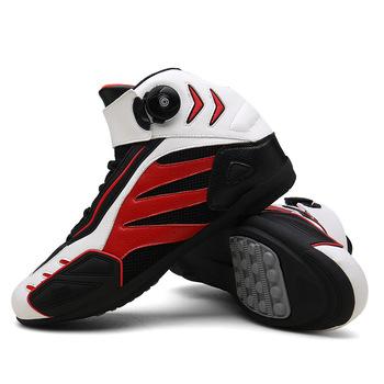 Buty motocyklowe męskie lato Mesh buty motocyklowe buty motocrossowe motocykl konna wyścigi Botas obuwie na motor buty do kostki tanie i dobre opinie CN (pochodzenie) Nylon i bawełna ANKLE Oddychające Mężczyźni S890 Red black black Pink 36 39 38 40 41 42 43 44 45 37