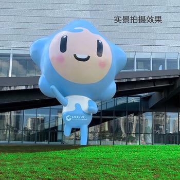 Juvenile Palace Campus GRP Sculpture Animal Cartoon Glass Landscape Sculpture Theme Anime Sculpture