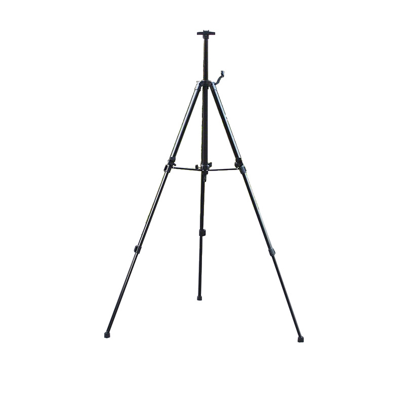 Hand-cranking Easel Black And White With Pattern Small Hand-cranking Easel Sketch Easel Display Rack Folding Tripod