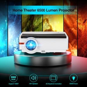Image 3 - Caiwei A9/A9AB 스마트 안드로이드 와이파이 LCD LED 1080p 프로젝터 홈 시네마 풀 HD 비디오 모바일 비머 스마트 폰 TV 미라 캐스트 Airplay