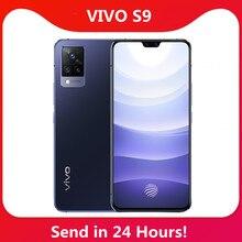 Yeni Vivo S9 5G smartphone 6.44 ''90Hz AMOLED ekran UFS 3.1 ön 44MP arka 64MP 4000mAh 33W flaş şarj NFC Google