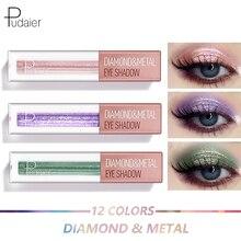 Liquid-Eye-Shadow Cosmetics Pudaier Makeup Profissional Matte 12-Color Maquiagem Yes