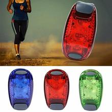 Bicycle taillights Multifunctional Outdoor Riding Warning Lights Running Backpack Lights Warning Helmet Lights Hanging Ligh K0E9 cheap Seatpost Battery
