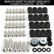 все цены на For BMW R1250RT R1200RT 2005-2013 2006 2007 2008 2009 2010 2011 2012 Complete Full Fairing Bolts Kit Motorcycle Stainless Steel