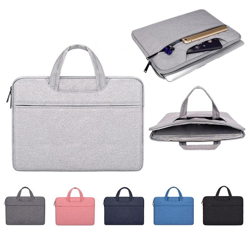 Women Men Bag Laptop Handbag Travel Bussiness Male Briefcase 13.3 14.1 15.6 Inch Notebook Bag For Macbook Air Pro PC Sleeve Case