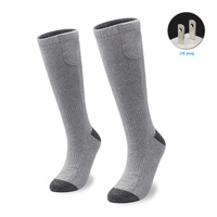 Socks Rechargeable Cold Feet Adjustable Temperature Outdoor Sports Heated Women And Men For Chronically 3.7 Voltage
