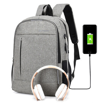 Anti Theft Man Backpack USB Charged laptop Large bagpack Travel Bag For Men School Student Boy girls mochila hombre 2019 фото