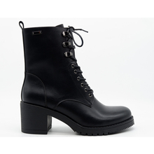 Autumn and winter thick heel short boots female high heel lace up British style  handsome motorcycle boots Martin boots British 2017 autumn and winter british wind thick bottom shoes lace up boots within 12cm muffin high slope with martin boots
