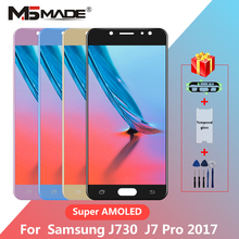 """Get more info on the 5.5"""" Super AMOLED For Samsung Galaxy J7 Pro J730 LCD For Samsung J7 2017 J730F J730G J730GM Display Touch Screen Digitizer"""