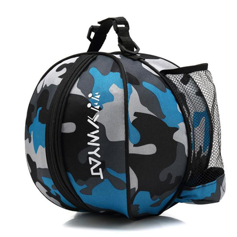 HiMISS Portable Wear-resistant Basketball Backpack Water Bottle Pack Soccer Bags