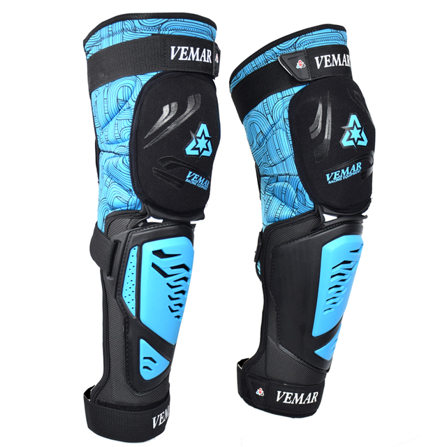 Motorcycle Knee pads Moto Motocross Racing Shin Guards Full protection Gear Riding Knee Protector Pads Motorcycle Knee Slider 3