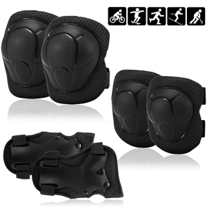 Kids Knee Pads Set Protective Gear Kit Knee Elbow Pads with Wrist Guards Child Safety Protection Pads for Rollerblading Skating