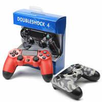 Joystick gamepad para controlador ps4 para bluetooth/usb com fio controlador sem fio dualshock 4 para ps4 controlador para playstation 4