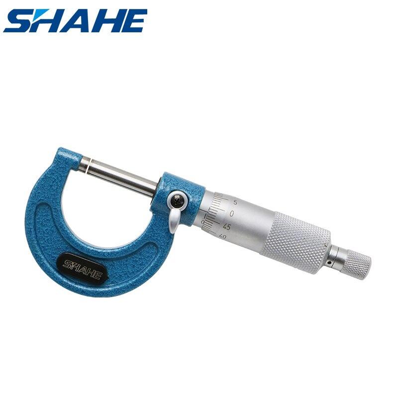 Измерительный инструмент внутренний внешний микрометр Градуированный фотометр 0,01 мм 5201-25A