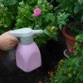 Электрический садовый распылитель, 1,5 л, бутылка с распылителем для домашних цветов, ручной инструмент для полива