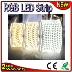 4PCS/Lot Samsung Chip 2 Years Warranty 3528 2835 5050 5630 5730 110V 220V LED Strip RGB Flexible Bar Light Waterproof