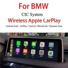 цена на Wireless Apple CarPlay Car Video Interface For BMW E60/E61/E63/E64/E70/E71/E81/E82/E84/E87/E88/E89/E90/E91/E92/E93 CIC System