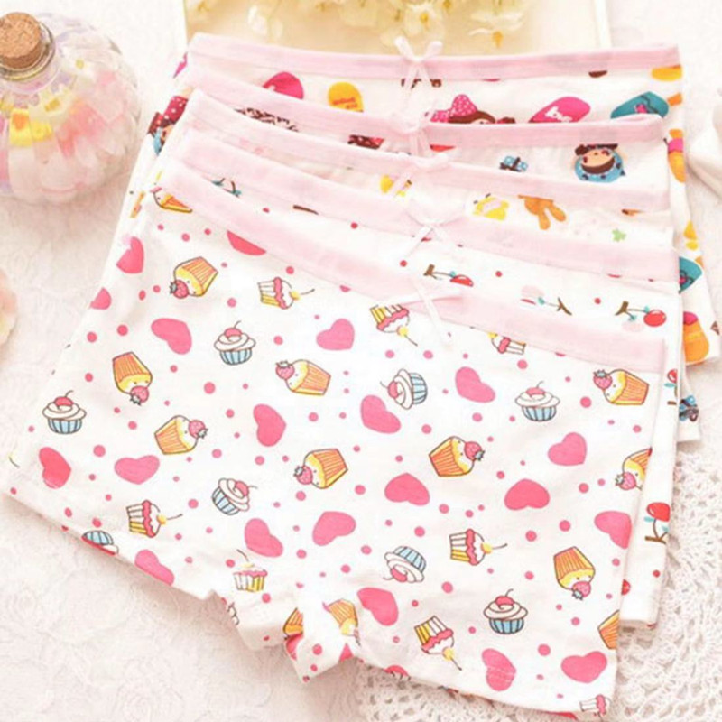 3Pcs/lot Girls Boxer Underwear  Baby Panties Girls Cotton Underpants Shorts  for 2-10 Years 1